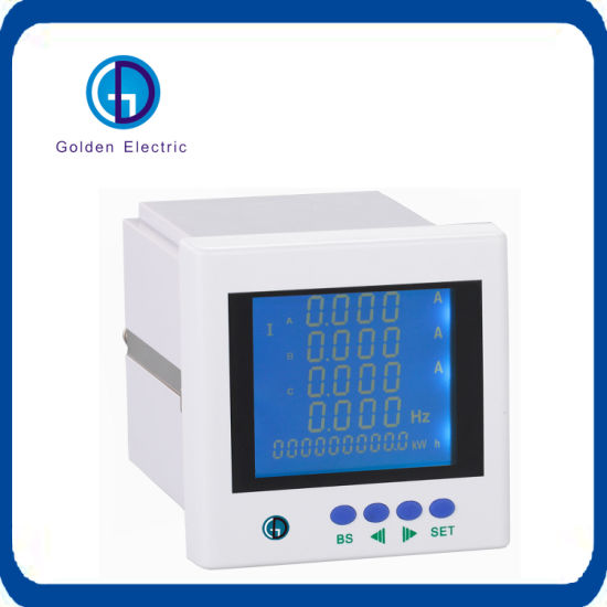 Three Phase LCD Multi Function Digital Panel Power Meter