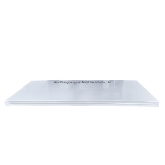 Hot Rolled Sheet 201/304/316 Steel Plate with 2b