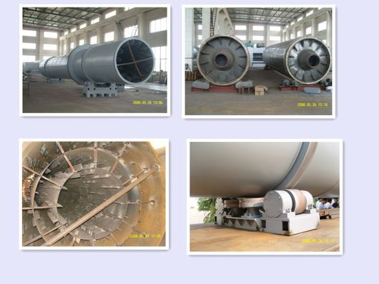 Sawdust Rotary Drum Drying Machine