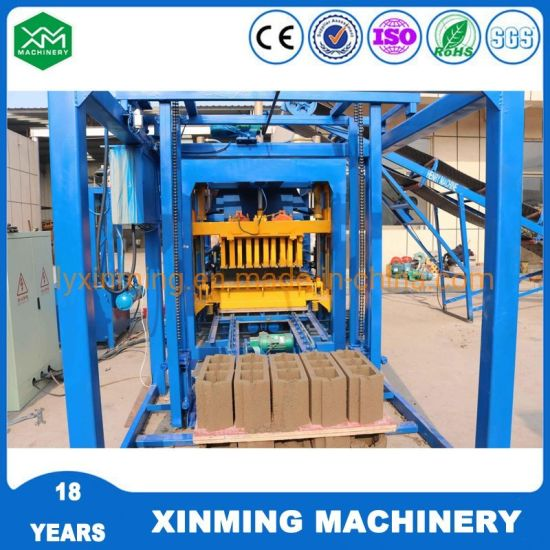 Wide Used Qt4-18 Cement Brick Making Machine for Brick Production Line
