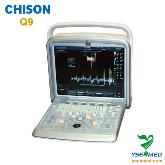 Medical Hospital Chison Q9 Hot Sale 3D 4D Color Doppler Ultrasound Machine pictures & photos