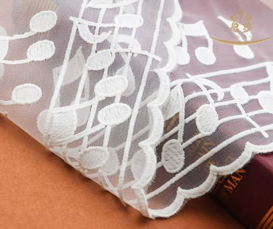 New Free Sample Nylon Guipure Mesh Cheap Fabric Lace for Garment pictures & photos
