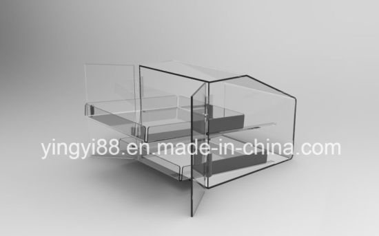 High Quality Acrylic Perspex Bakery Display Case pictures & photos
