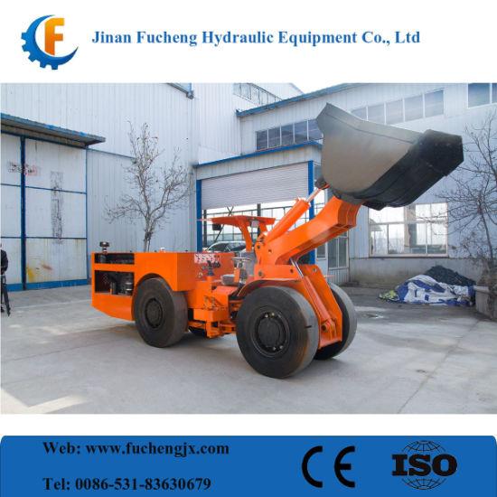 2m3 bucket volume hydraulic underground mining tunnel LHD with high ensured operation safety