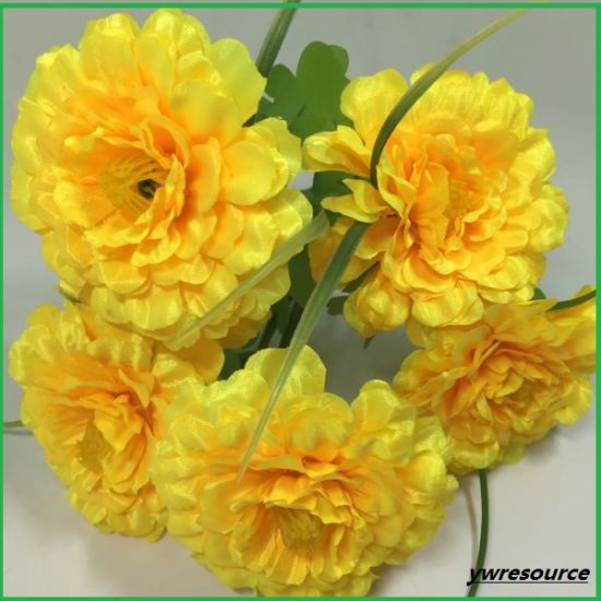 Silk Artificial Flowers for Home Wedding Decoration