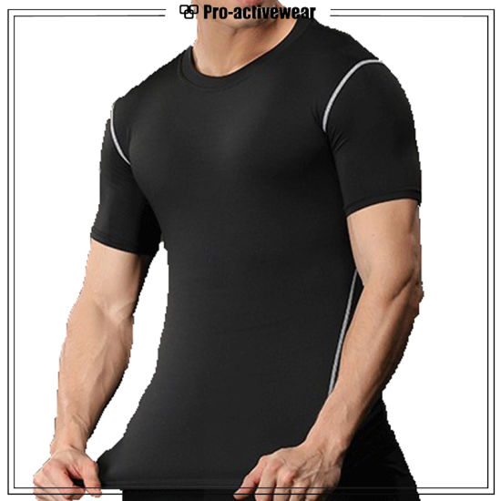Custom Made Gym Wear Men T Shirts pictures & photos