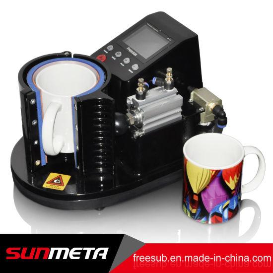 Dual Display Heat Press Transfer Sublimation Machine For Cup Coffee Mug US STOCK