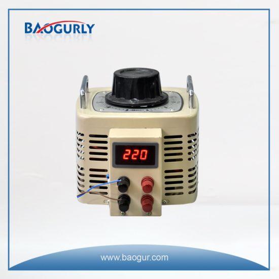 220V Adjustable Voltage Regulator Variable Transformer 2kVA Variac