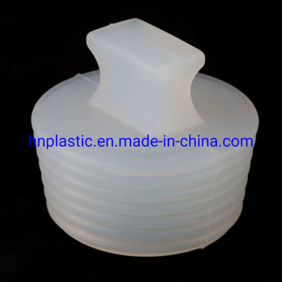 Clear Masking Silicone Flangeless Plugs, Silicone Rubber Products for  Coating