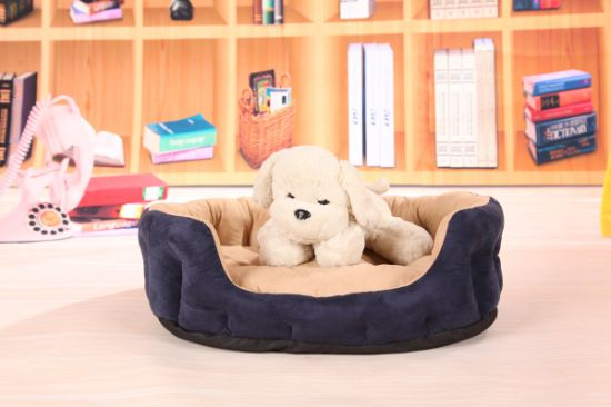 Three Colors Suede Nap Pet Bed & Dog Bed pictures & photos