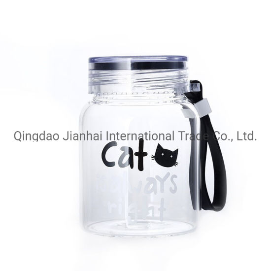 Simple Style Sealed Borosilicate Mason Jar Glass Bottle pictures & photos