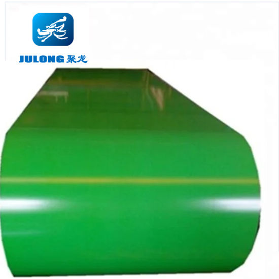 0.12-1.2 mm Prepainted Color Coated Steel Coil PPGI