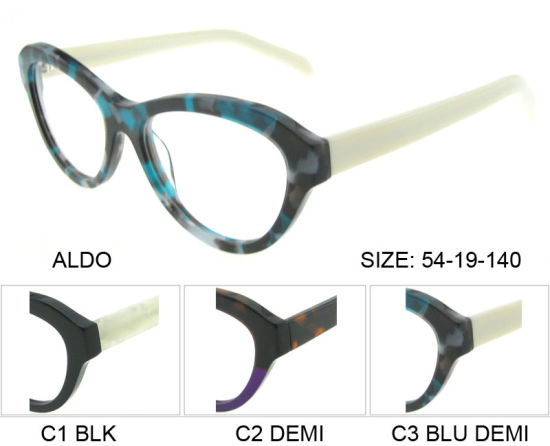 f7840b7c41a3 China Bright Color and Fashion Acetate Eyewear Optics Frame - China ...