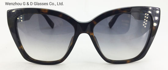 Classic Model China Factory Wholesale Acetate Frame Sunglasses