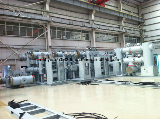 38kv/72.5kv/145kv 50Hz/60Hz Gis Gas Insulated Metal Enclosed Switchgear with IEC61850 Protocol pictures & photos