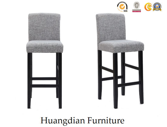 Simple Design Bar Furniture Customized Fabric Bar Chair Bar Stool (HD518) pictures & photos