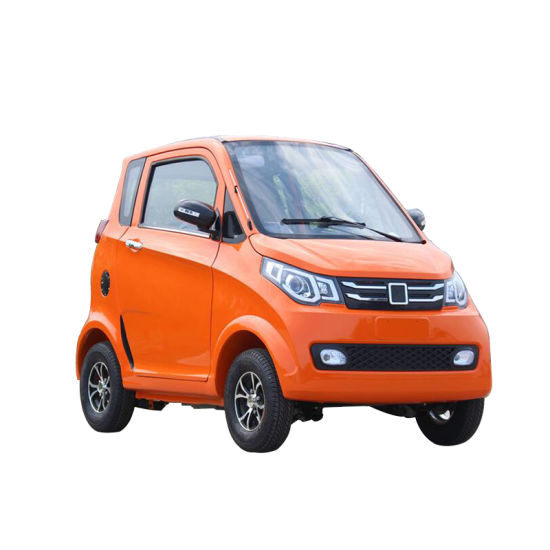 New Car Hot Selling 4 Aluminum Wheel 4 Seats Electric Car 3 Wheel Electric Cabin Scooter New Energy Electric Car Price Automatic Adults Right Hand Drive