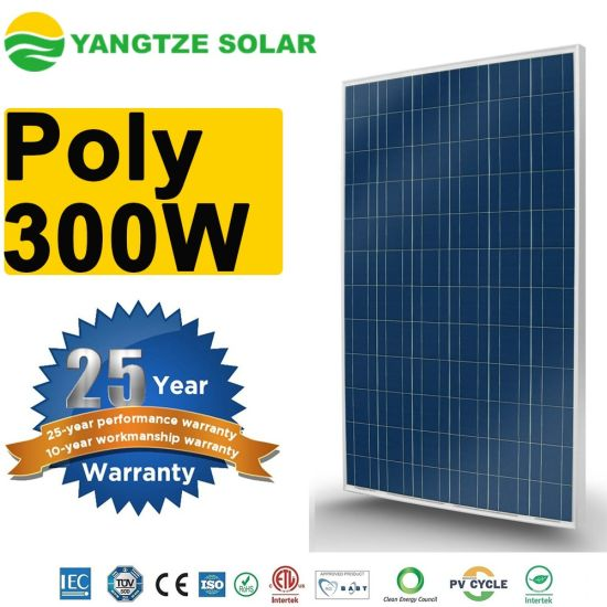 300W 310W 320W China Poly Solar Cells PV Solar Panel Wholesale Price