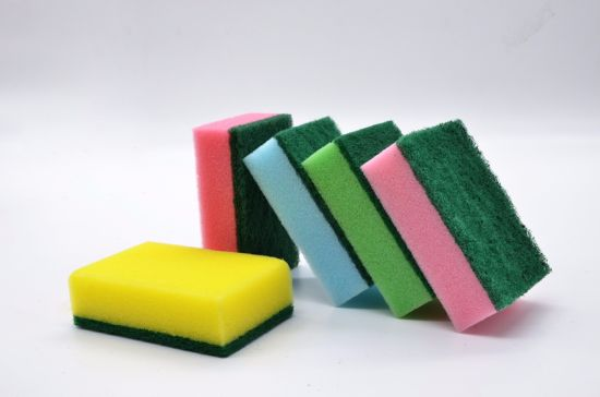 Factory Supply Premium Quality Personalized Kitchen Scouring Pad pictures & photos