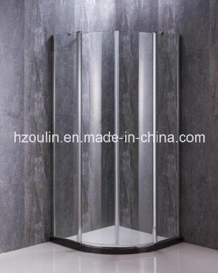 Two Folding Door Sector Shower Enclosure