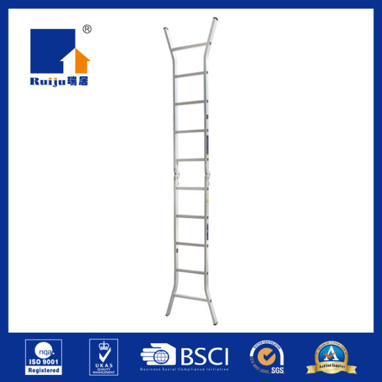 Two-Joint Aluminum Ladder for Daily Works pictures & photos