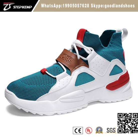 Wholesale Lightweight Men Injection Athletic Sport Shoes Running Shoes for Men 3183