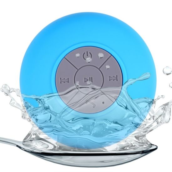 Wireless Stereo Shockproof Mini Bluetooth Speaker for Bathroom