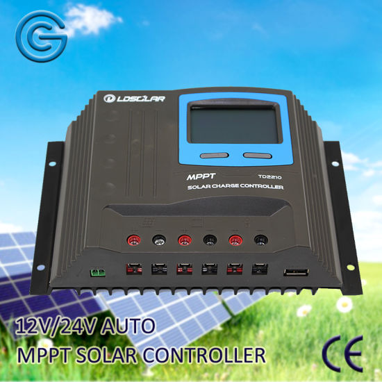 20A 40A Solar Power System Battery Charger Regulator/Controller MPPT pictures & photos
