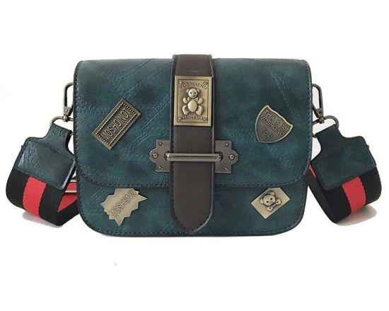 Wholesale OEM Fashion PU Leather Women Handbag Lady Messenger Crossbody Bag