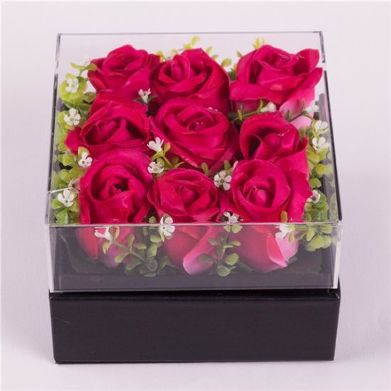 Acrylic Flower Gift&Crafts Boxes Wholesale for Roses pictures & photos