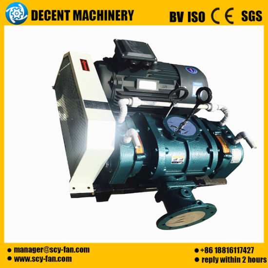 Factory Three Lobes Aquaculture Rotary Air Roots Blower.