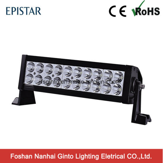 Double row led light bar foshan nanhai ginto lighting electrical popular low cost 60w 12inch epistar led light bar for atv suv gt3100 aloadofball Gallery