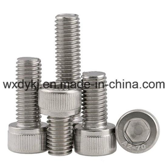 DIN912 Stainless Steel Socket Cap Machine Allen Screw