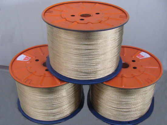 0.28mm Brass Coated Steel Wire to Woven Coal Industry Hose pictures & photos