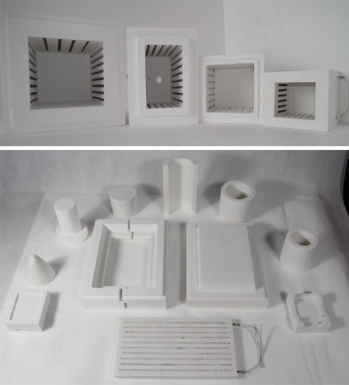 Vacuum Formed Shapes Ceramic Fiber Products