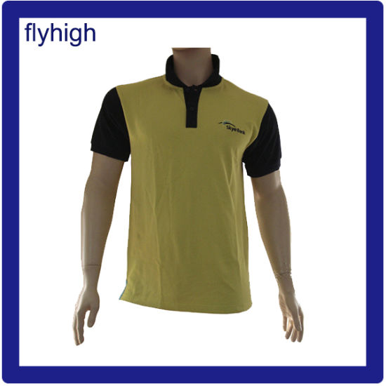 High Quality Custom Embroidery Fashion Polo Shirt Cotton Polo T-Shirt