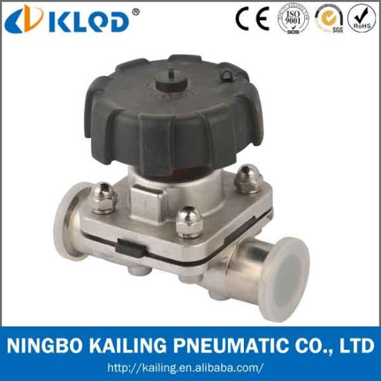 Stainless Steel Diaphragm Valve, Flow Control, Manual Operated pictures & photos