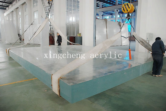 china 20mm to 500mm thick acrylic sheets for aquarium projects