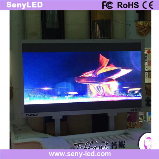 Shopping Plaza Giant Video Wall LED Display Screen for Animation Advertising (P6mm)