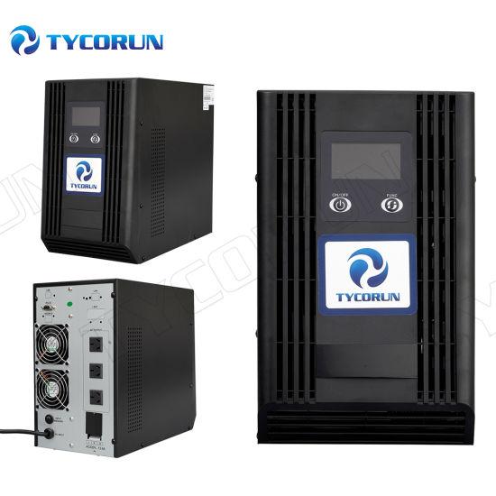 Tycorun 1kVA 2kVA 3kVA Online UPS Power Supply Line Interactive UPS with LCD Screen and IGBT Tech