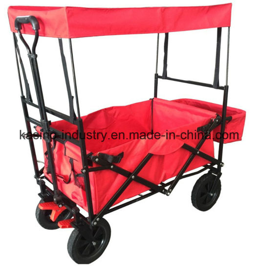 Hot Sales Camping/Fishing/Shopping/Baby Collapsible Utility Wagon Cart