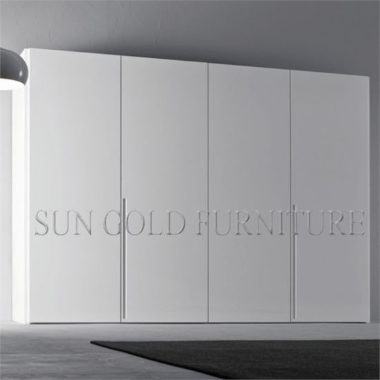 separation shoes a128f 9f197 China White Gloss Wooden Wardrobe with Four Door Modern ...