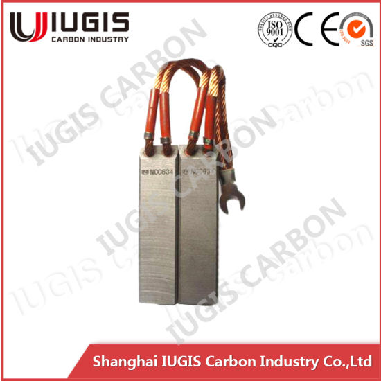 National Grade Carbon Brush for Power Plant Ncc634