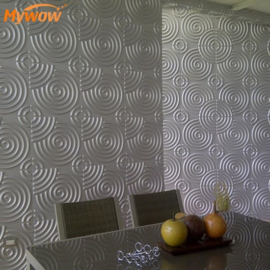 Interior Heat Insulation 3D Decorative PVC Wall Panels