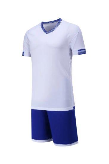 China OEM Football Training Soccer Uniforms Wholesale No Logo Soccer ... 7cb64c105