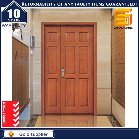 Solid Composite Wooden Door Interior Wood Veneer Door pictures & photos