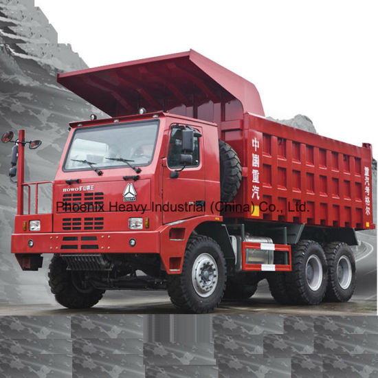 Sinotruk 70tons 6X4 HOWO Mining Dump Truck with Cnhtc Engine