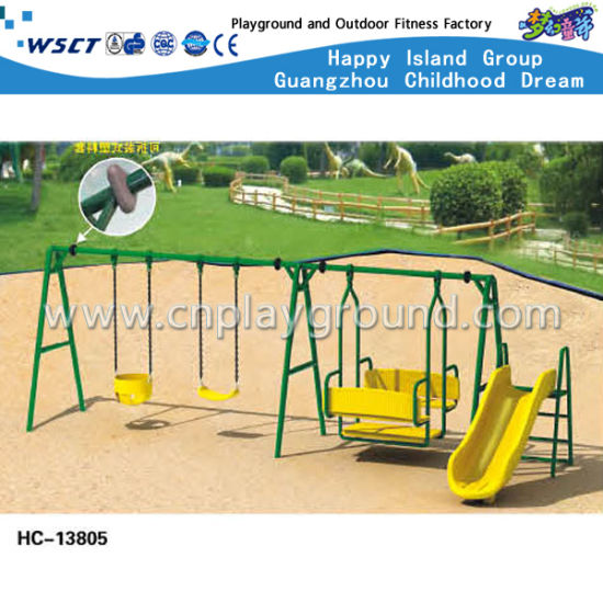 Amusement Park Swing Playground for Kids Play (HC-13803) pictures & photos