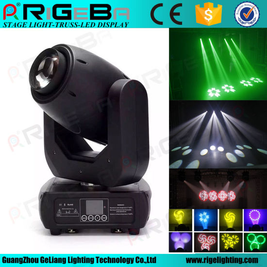 2017 New Stage Light Effect 150 Watt High Power Beam Spot LED Moving Head pictures & photos