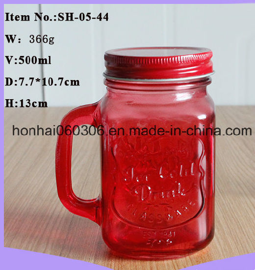 Mason Jar Drinking Glass pictures & photos